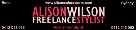 Alison Wilson Freelance Hairdresser